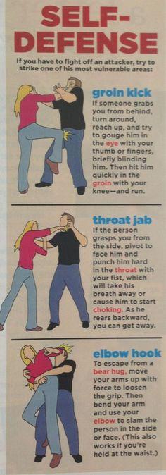 self defense tips