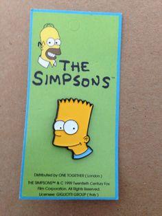 The Simpsons BART SIMPSON Fox 1997 Enamel Metal PIN BADGE Pins Cartoons  Comics in Video Games   Consoles 3253709cab54