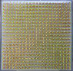 Hartmut Böhm Quadratrelief 26 1966/68, Struktur aus  2 Farben, Plexiglas 64 x 64 x 4,6cm Textures Patterns, New Art, Hartmut, Abstract, Rugs, Cover, Wall, Inspiration, Home Decor