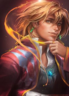 Howl by *sakimichan on deviantART
