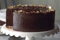 Our Best-Ever Chocolate Fudge Layer Cake Recipe - Tried and true, we all love this cake!