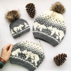 Kodiak Kisses fair isle hat knitting pattern available at LoveKnitting! Start yo… Kodiak Kisses fair isle hat knitting pattern available at LoveKnitting! Start your new winter project and share your progress on the LoveKnitting website. Love Knitting, Knitting Charts, Fall Knitting, Crochet Baby, Knit Crochet, Crochet Beanie, Baby Knitting Patterns, Crochet Patterns, Fair Isle Pattern