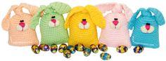 Tutorial: conejitos para rellenar de huevos de chocolate tejidos en crochet (amigurumi)!