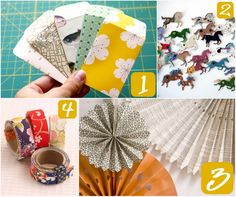 Omiyage Blogs: DIY Fun with Paper. Check out 1- make your own pretty envelopes..gone try!