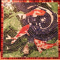 """Mosaic  """"Koi Pond"""""""