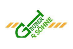 Logo prototype for a local earthworks company. Beste Logos, Logo Design, Logo Ideas, Company Logo, Branding, Graphic Design, Brand Management, Identity Branding