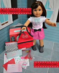 American Girl Grace Debut Souvenirs Giveaway