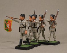 Vintage lead Toy and Model Soldiers: Viriatos 1936-39 ALYMER