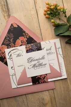 Gorgeous Wedding Invitations Colored envelopes Weddings and Wedding