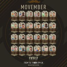 cartas movember en fut 17