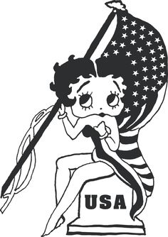 bad betty boop | Betty Boop-18 - Betty Boop - Cartoon Stickers - Vinyls & Decals