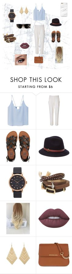 """""""Vacation"""" by hageranne on Polyvore featuring MANGO, 3.1 Phillip Lim, Ray-Ban, Billabong, Genie by Eugenia Kim, Marc Jacobs, TOKYObay, Lime Crime, Charlotte Russe and MICHAEL Michael Kors"""