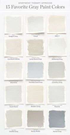 It's easy to second guess yourself when it comes to picking paint. Let us help guide your way to picking your near gray wall color.Color Cheat Sheet: The Best Gray Paint Colors