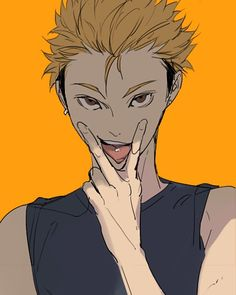 Terushima- omfg if you looked at me like that I would fuck you on the spot <--this person doesnt beat around the bush