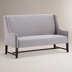 One of my favorite discoveries at WorldMarket.com: Concrete Hayden Dining Banquette