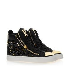 Sneakers - Sneakers Giuseppe Zanotti Design Women on Giuseppe Zanotti Design Online Store @@Melissa Nation@@ - Fall-Winter Collection for men and women. Worldwide delivery.  RDW326 001