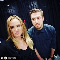 #Repost @caitylotz with @repostapp. ・・・ So happy to see each other