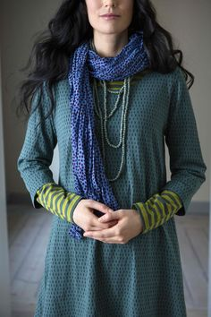 Gudrun Sjödéns Herbstkollektion Start with a plain knit Goodwill dress. Fashion Mode, Look Fashion, Fashion Outfits, Fashion Tips, Fashion Design, Fashion Quiz, Mode Style, Style Me, Gudrun