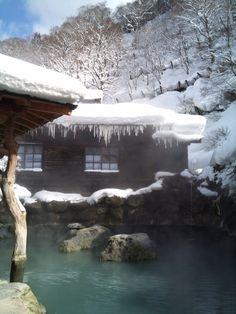 Tsurunoyu - Nyuto Onsen hot-spring, Akita 鶴の湯 乳頭温泉 秋田