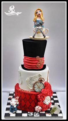 Mademoiselle fait des gâteaux