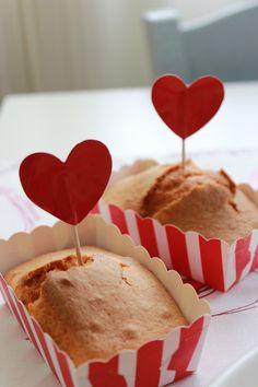 Plumcake senza uova e senza burro per la colazione di San Valentino