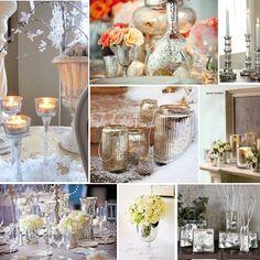Mercury glass wedding ideas