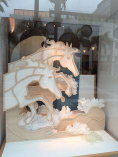 "HERMES,Rodeo Drive,Beverly Hills,L.A.,""Wild Horses"", uploaded by Ton van der Veer"