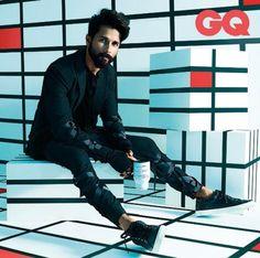 Shahid Kapoor #GQ #Hot #Obsession #Bollywood #India #Photoshoot #ShahidKapoor