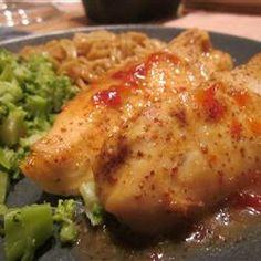 Pepper Jelly Glazed Chicken Allrecipes.com