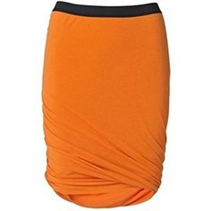 MB By Malene Birger Womens Dicil Twisted Skirt Orange M -- You can find out more details at the link of the image.(This is an Amazon affiliate link and I receive a commission for the sales)