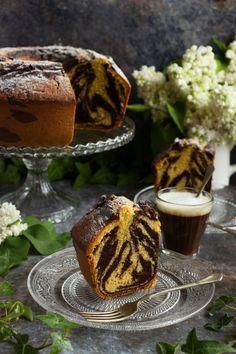 Márványsütemény recept French Toast, Fruit Cakes, Bundt Cakes, Eat, Breakfast, Places, Food, Morning Coffee, Essen
