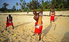 The Maasai Warriors cricket team
