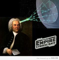 Bach Pun: The Empire Strikes Bach