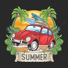Tree Artwork, Paper Artwork, Car Wash Design, Vector Trees, Vector Vector, Mickey House, Cartoon Butterfly, Summer Banner, Summer Trees