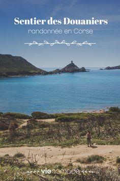 Randonnée en Corse sur le sentier des douaniers, près des îles sanguinaires Corsica, Rando Velo, Banana Beach, French Pictures, Belle France, Destination Voyage, Beaches In The World, Most Beautiful Beaches, Europe Destinations