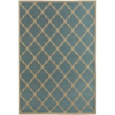 Inspired by Andalusian architecture, with its horseshoe arches and zellige tilework, our rug has a unique but subtle pattern. An exotic and far-flung backstory for an area rug, we know. But one that will make sense as soon as you set eyes and feet on it—indoors or out. Blue Moroccan Tile, Moroccan Tile, Tile Rug, Rugs, Rugs And Door Mats, Outdoor Living Design, Area Rugs, Family Room Remodel, Patio Rugs