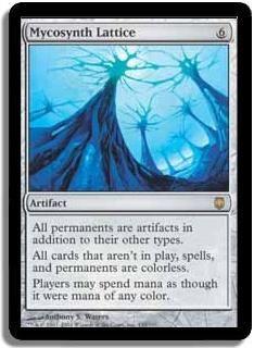 Magic The Gathering MTG Mycosynth Lattice Darksteel Condition: NM/M Rare $5.99 Free Shipping!!!