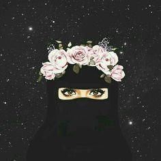 Meet your Posher, Laila Anime Muslim, Muslim Hijab, Mode Niqab, Tmblr Girl, Sarra Art, Hijab Drawing, Niqab Fashion, Muslim Fashion, Islamic Cartoon