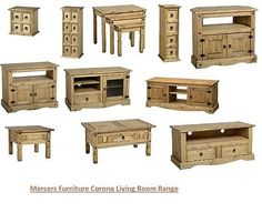 Mercers Furniture corona pine tv unit coffee table nest cd living room - http://www.computerlaptoprepairsyork.co.uk/monitorstv-screens/tvs/mercers-furniture-corona-pine-tv-unit-coffee-table-nest-cd-living-room