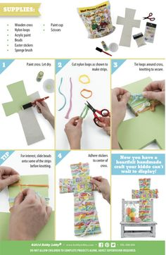 Here's a kid-friendly project to help you teach your little ones the real meaning of Easter!