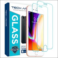 Tech Armor Apple iPhone 8 Glass Screen Protector