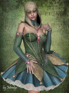 Pierrette by LadyMiralys on DeviantArt