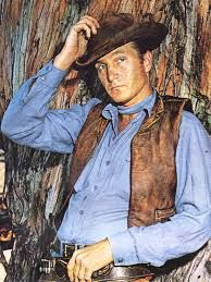 Eric Fleming - original star of Rawhide. He was soon upstaged by  Rowdy Yates played by Clint Eastwood. Eric's face had been badly damaged goofing around in WWII and repaired by plastic surgery. He left Rawhide after the 64-65 season and went to make a movie in Peru. In Sep 1966 a canoe he was in overturned, throwing him in a river.He was killed and eaten by piranhas, a grisly death. He had intended to leave acting, get married  and become a teacher after that movie. Info courtesy Wiki.