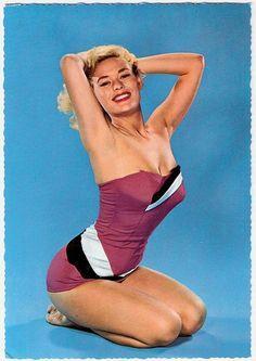 maillots de bain des annees 40 et 50 12   Maillots de bain des années 40 et 50   vintage pin up photo maillot de bain image années 50 années 40