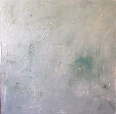 Blue Remnant by Amy Young • 36 x 36 • Oil on Canvas • available through Bee Street Studio • Dallas •