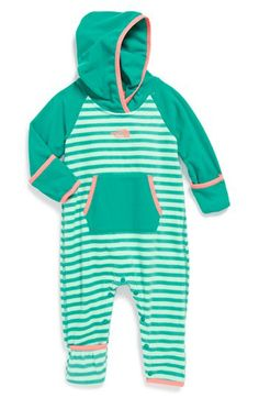 The North Face 'Glacier' Fleece Bunting (Baby Girls) available at #Nordstrom
