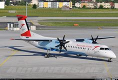 Austrian Arrows (Tyrolean Airways) De Havilland Canada DHC-8-402Q Dash 8  Salzburg - W.A. Mozart (Maxglan) (SZG / LOWS) Austria, May 7, 2011