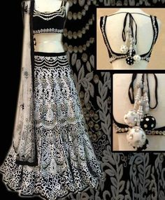 Not sure about the colors but I like the design and style! #choli #lengha #indianclothes