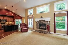 Love this openness of this main floor! #cathedralceilings #XLwindows MLS: 15032059
