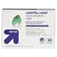 Nighttime Cold/Flu Relief Softgel 20-pk.
